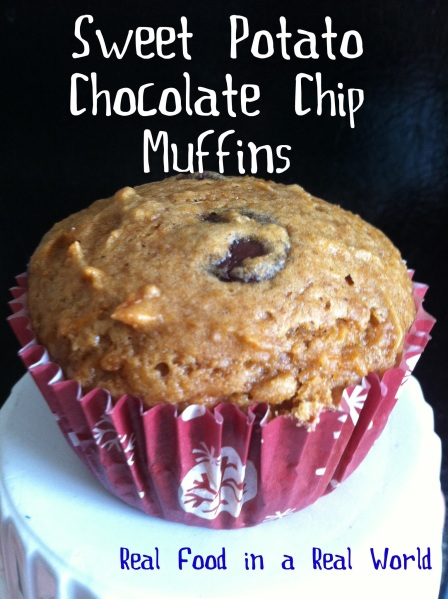 Sweet Potato Muffins (Real Food in a Real World)