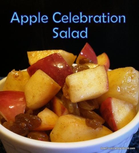 Apple Celebration Salad realfoodinarealworld.com
